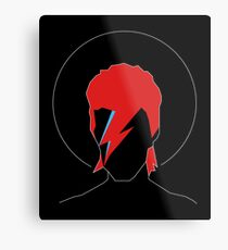 David Bowie Tribute Metal Print