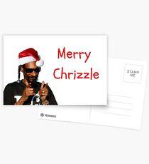 Snoopy Xmas Card, rapper greeting card Postcards