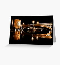 Immaculate Reflections Greeting Card