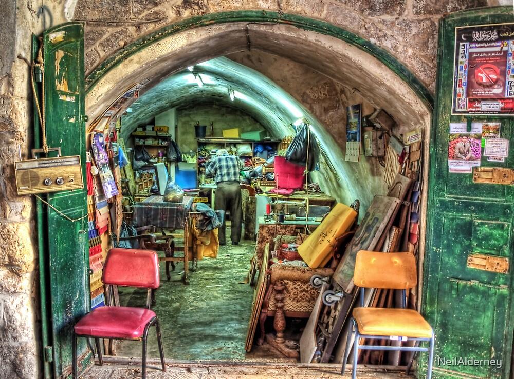 Jerusalem Workshop by NeilAlderney