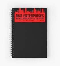 The Wire - B&B Enterprises - Red Spiral Notebook