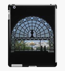 Jerusalems Altstadt vom Fenster der Dominus Flevit Kirche aus gesehen iPad-Hülle & Klebefolie