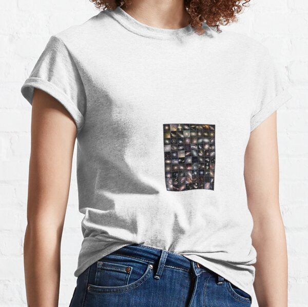 Hubble's Universe - 2 trillion galaxies and counting... Each one of these galaxies contains billions of stars. Are we alone? Classic T-Shirt