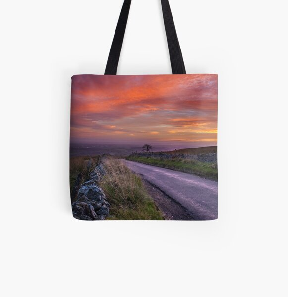 Tak Ma Doon Sunset All Over Print Tote Bag