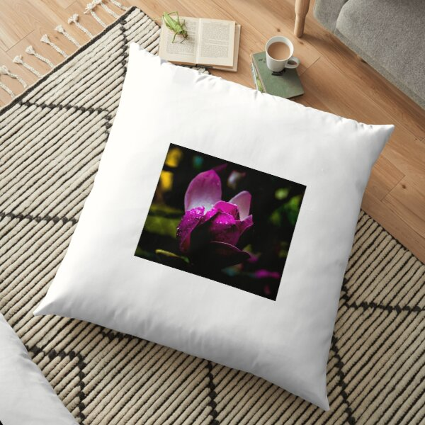 Beaded Tulip Floor Pillow