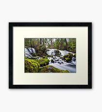 Pearsony Falls, Oregon Framed Print
