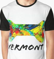 Vermont Dog Bone Graphic T-Shirt