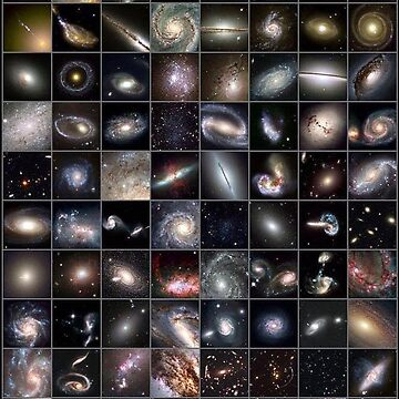 Hubble's Universe - 2 trillion galaxies and counting... Each one of these galaxies contains billions of stars. Are we alone? by znamenski