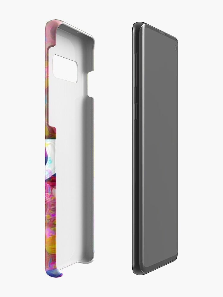 Alternate view of Tobu - Colorful logo Case & Skin for Samsung Galaxy