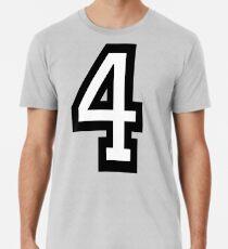 4, TEAM, SPORTS, NUMBER 4, FOUR, FOURTH, Competition, Quatro Premium T-Shirt
