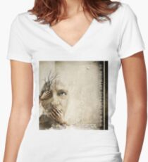 No Title 43 T-Shirt Women's Fitted V-Neck T-Shirt