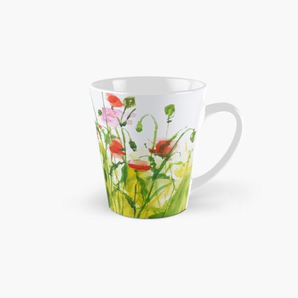 Poppies Tall Mug
