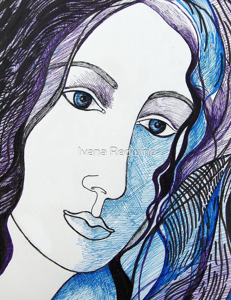Portrait of an Imaginary Woman #1 by Ivana Redwine