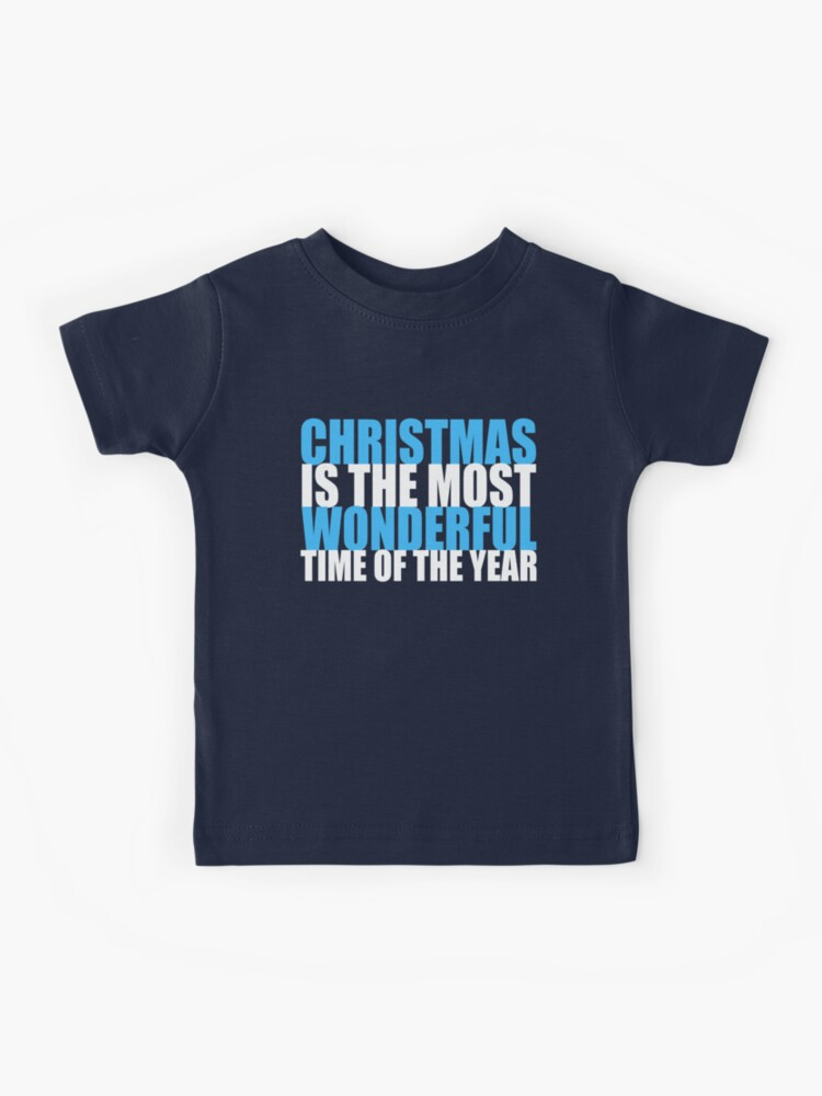 Christmas Gift Ideas Christmas Quote Shirt Holiday Shirt It/'s The Most Wonderful Time of the Year Shirt Christmas Sayings TShirt