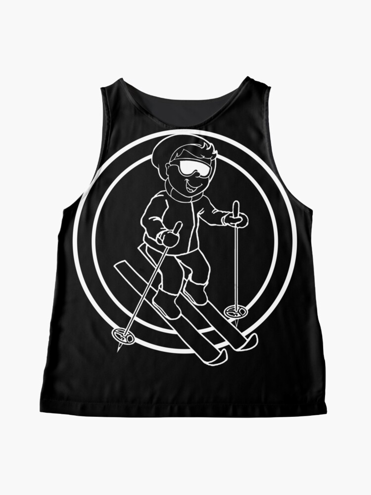 Alternate view of Skier - Casual - Relaxed Sleeveless Top