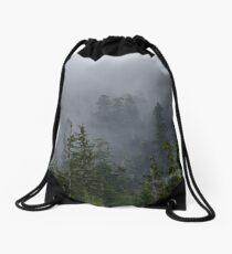 Misty Forest Drawstring Bag