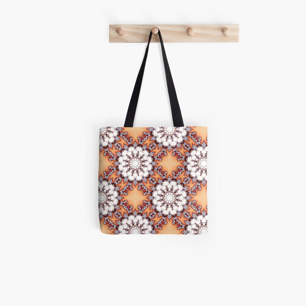 Fractal Chamomiles Tote Bag
