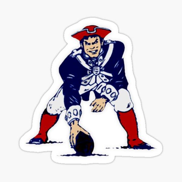 Football Patriots Sticker
