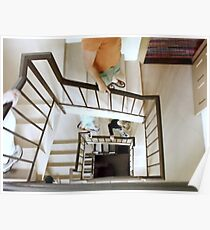 Down the Winding Staircase Poster