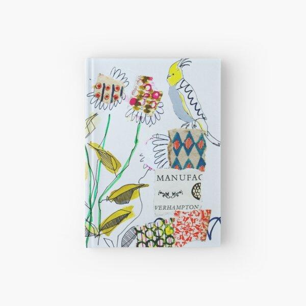 Rabbit and Cockatiel Hardcover Journal