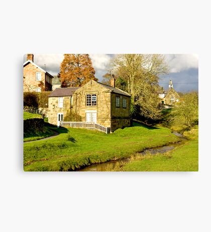 By The Beck Canvas Print