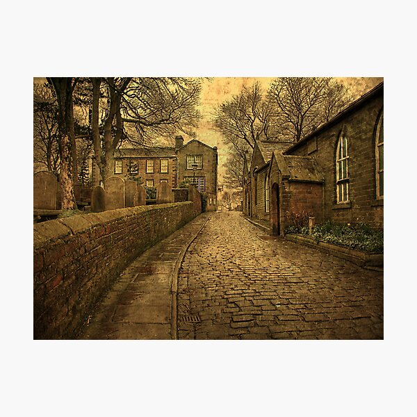 The Parsonage and School House  Photographic Print