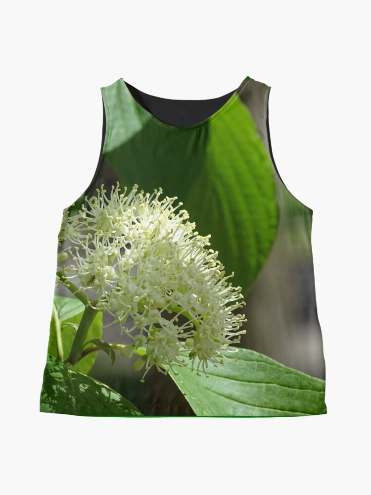Alternate view of White flowers, Flowers  Sleeveless Top