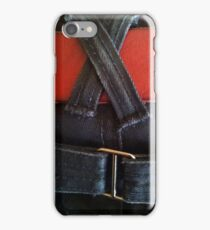 Jeans & red belt iPhone Case/Skin