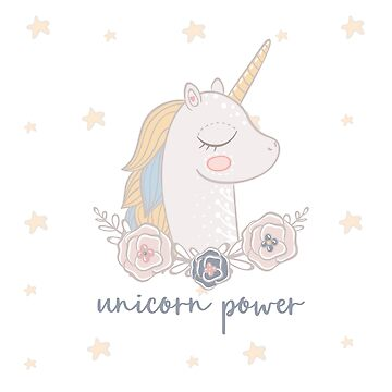 Cute unicorn by Tessa-V