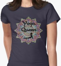 Yoga Queen Women's Fitted T-Shirt