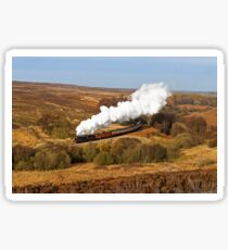 Yorkshire Steam in Autumn Sticker
