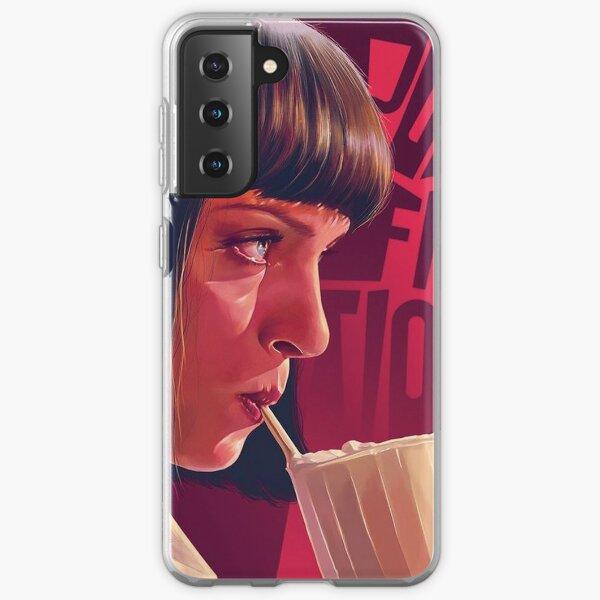 Mia Wallace Pulp Fiction Samsung Galaxy Soft Case