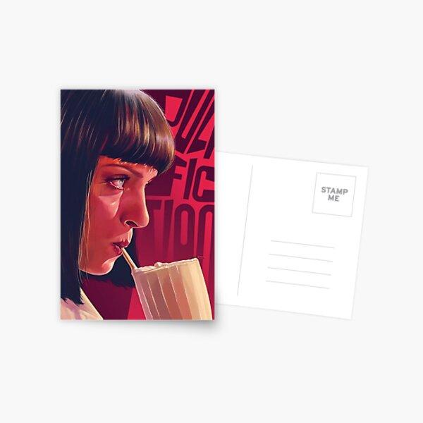 Mia Wallace Pulp Fiction Postcard