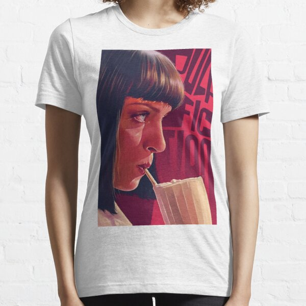 Mia Wallace Pulp Fiction Essential T-Shirt