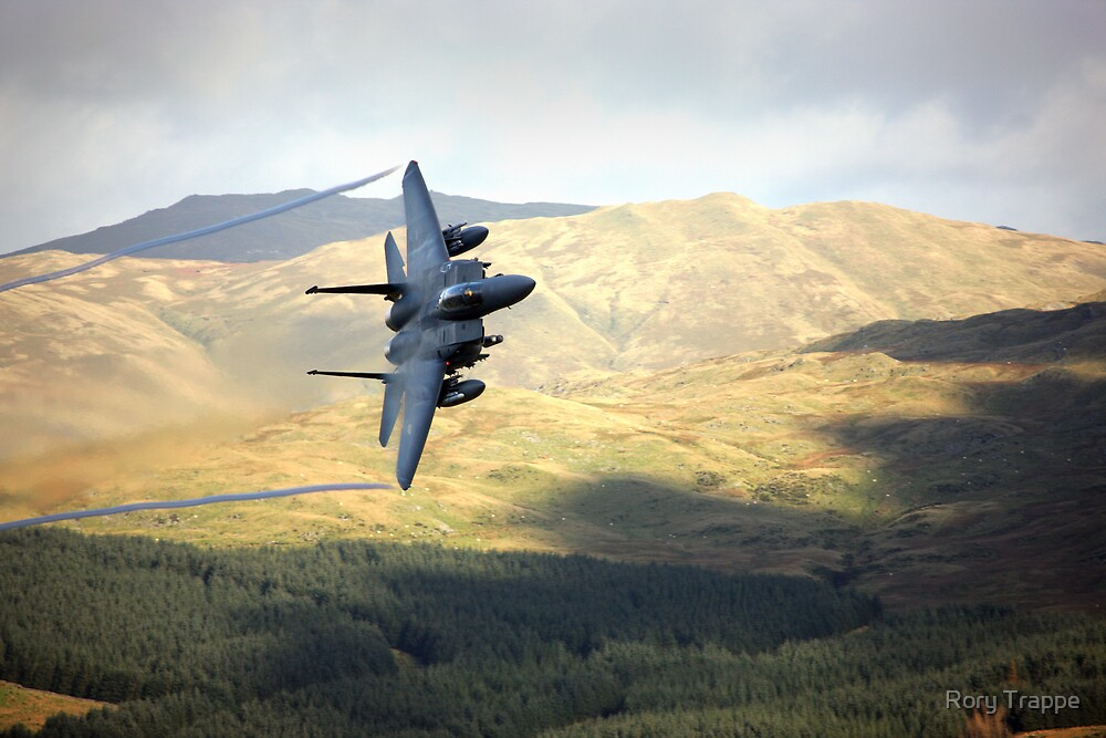 F15 over Wales by Rory Trappe
