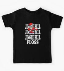 Jingle Bells Santa Floss Kids Tee