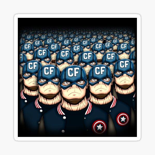 Frugal Army Sticker