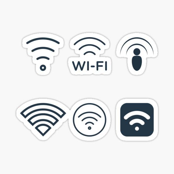 Wifi Signals  Sticker