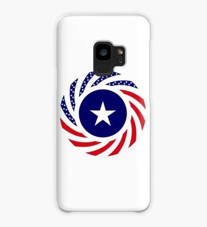 Liberian American Multinational Patriot Flag Series Case/Skin for Samsung Galaxy