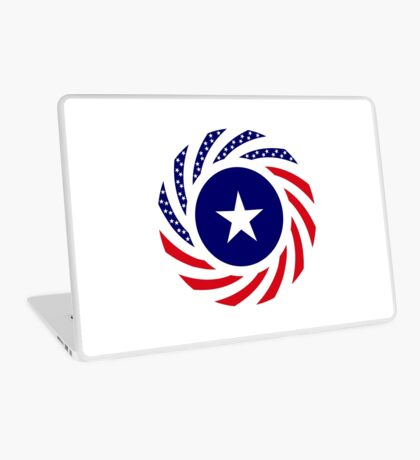Liberian American Multinational Patriot Flag Series Laptop Skin