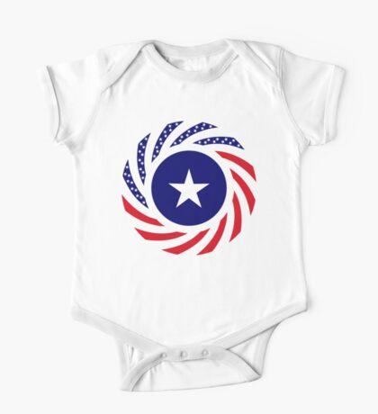 Liberian American Multinational Patriot Flag Series Kids Clothes