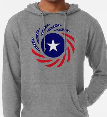 Liberian American Multinational Patriot Flag Series Lightweight Hoodie