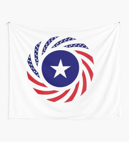 Liberian American Multinational Patriot Flag Series Wall Tapestry