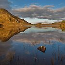 Cregennan lake by Rory Trappe