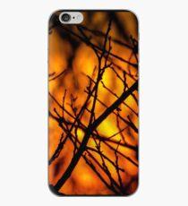 Illuminating Orange Sunset iPhone Case
