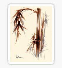 Huntington Gardens Plein Air Bamboo Drawing #1 Sticker