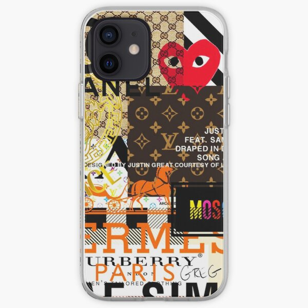Fashions Collage iPhone Soft Case