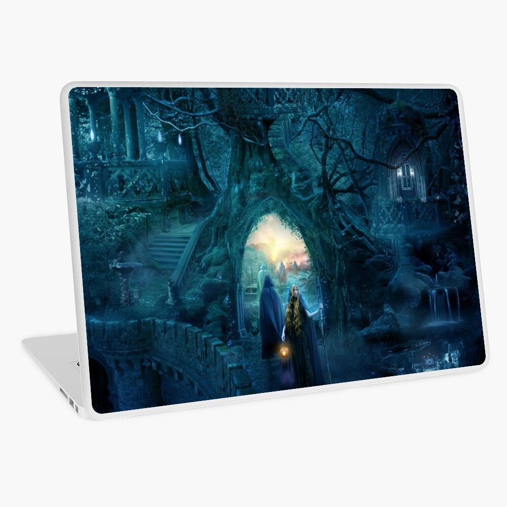 Farewell to Lothlorien Laptop Skin