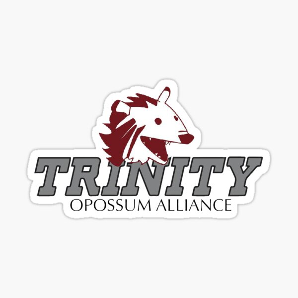 Trinity Opossums Sticker
