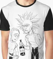 Rick and Morty (Stylised) Graphic T-Shirt